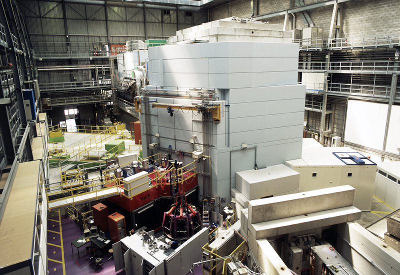 Put into operation in 1996:<br />The SINQ spallation neutron source  SINQ.