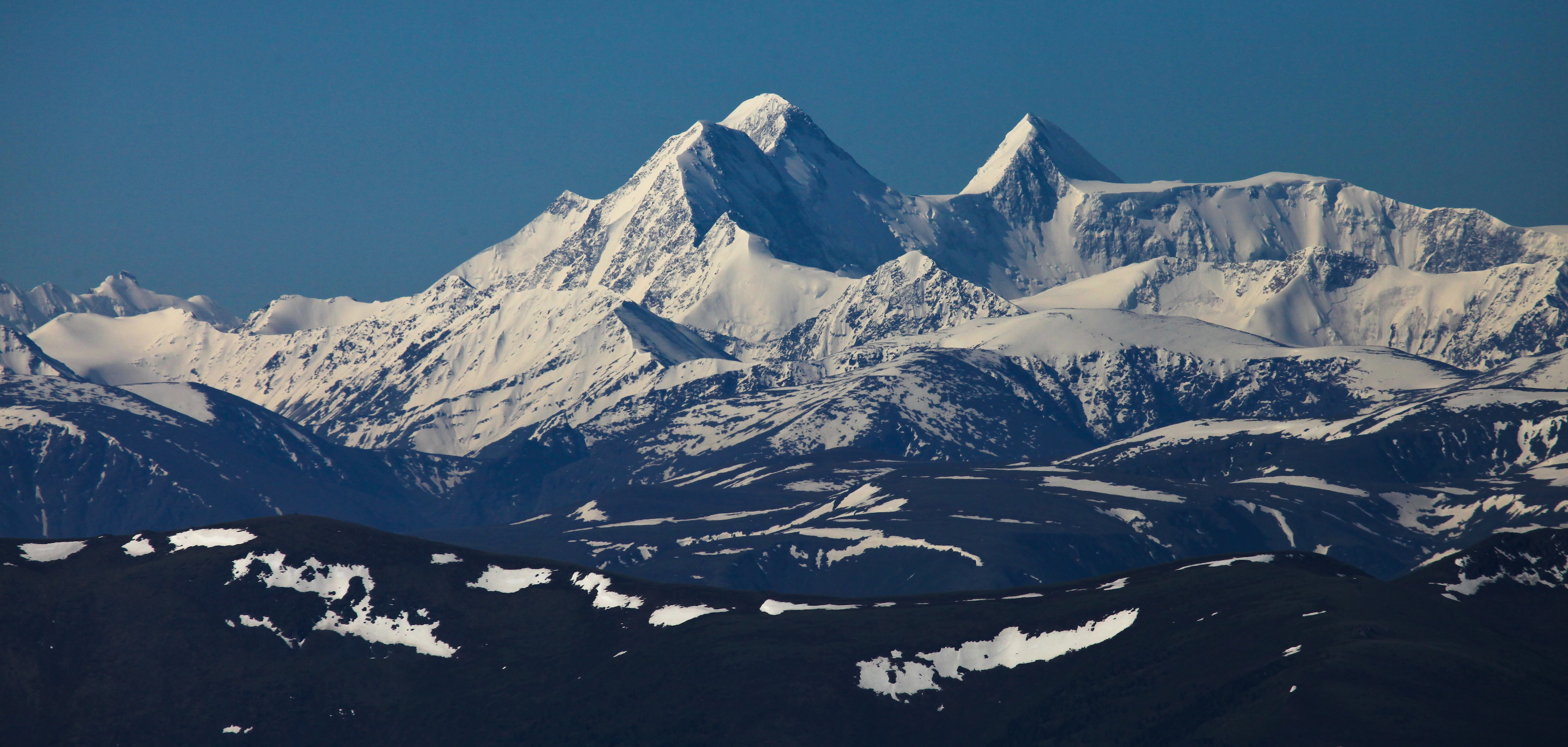View of the Belukha mountain. Photo courtesy of Alexey Nagaev.