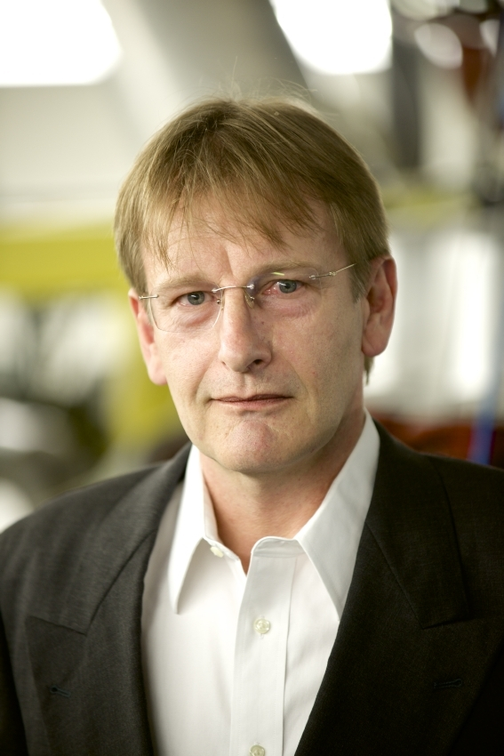 Researcher and inventor Klaus Werner Hoyer. Source: Frank Reiser/ Paul Scherrer Institute.
