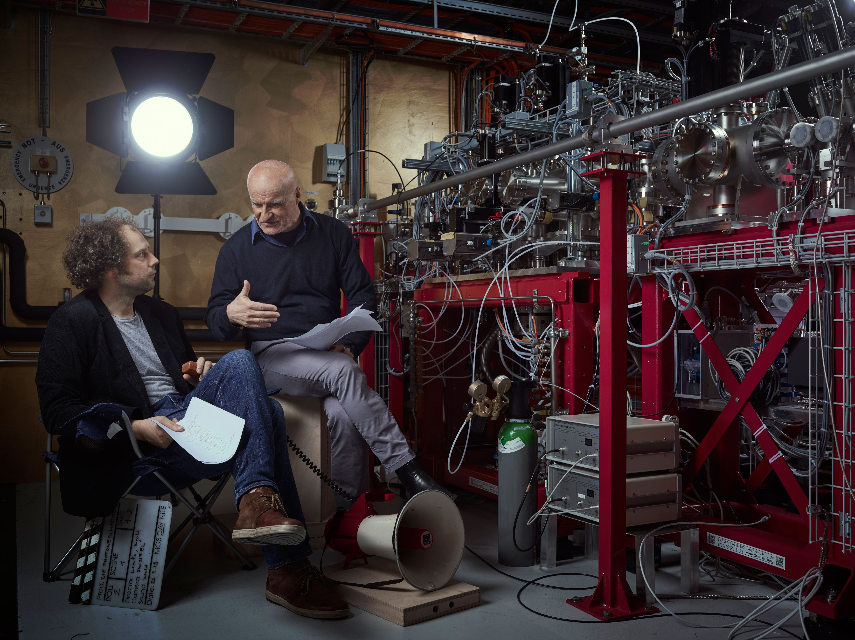 The directors: Henrik Lemke and Gerhard Ingold (Photo: Scanderbeg Sauer Photography)