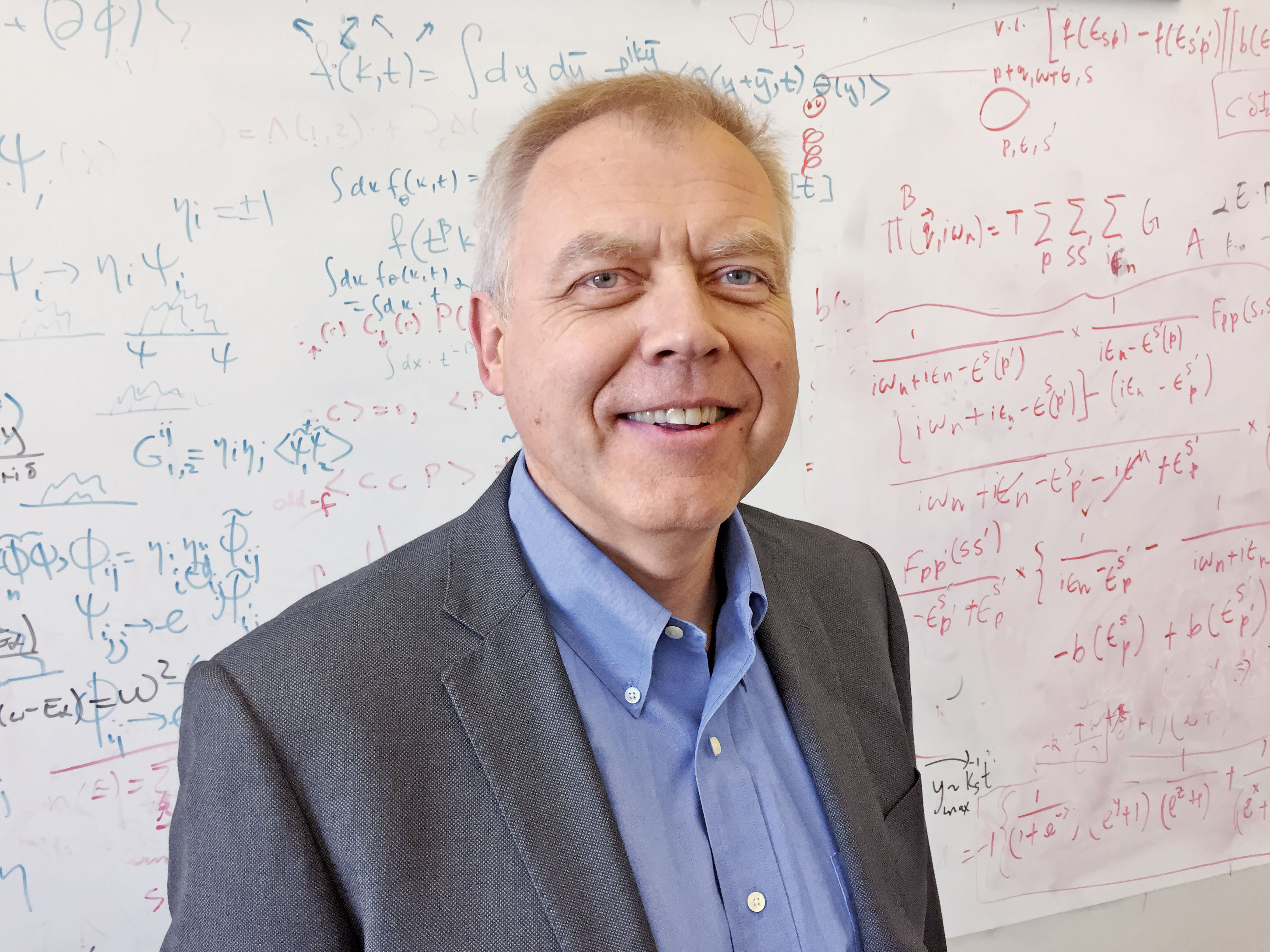 Alexander Balatsky, theoretical physicist at Nordita, Stockholm University. (Photo: Nordita/Hans von Zur-Mühlen, Nordita/Bart Olsthoorn)
