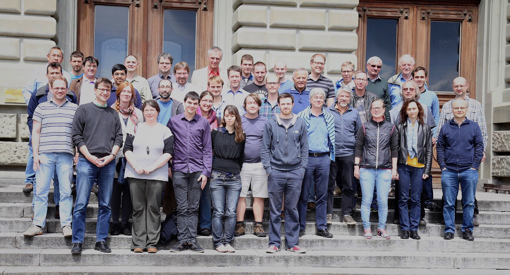 Picture taken at our collaboration meeting at Universität Bern, 12. May 2017