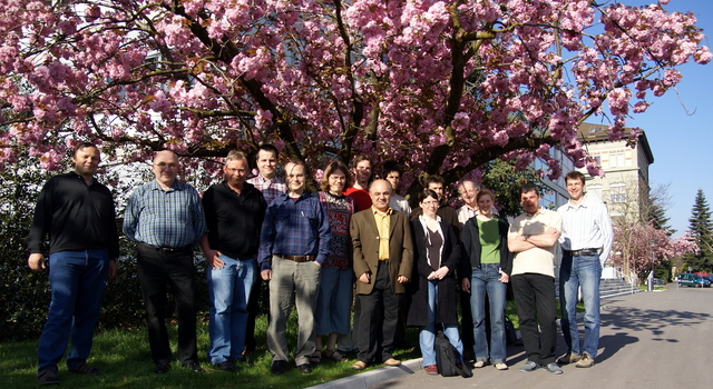 Picture taken at our collaboration meeting in Fribourg, 21. April 2007
