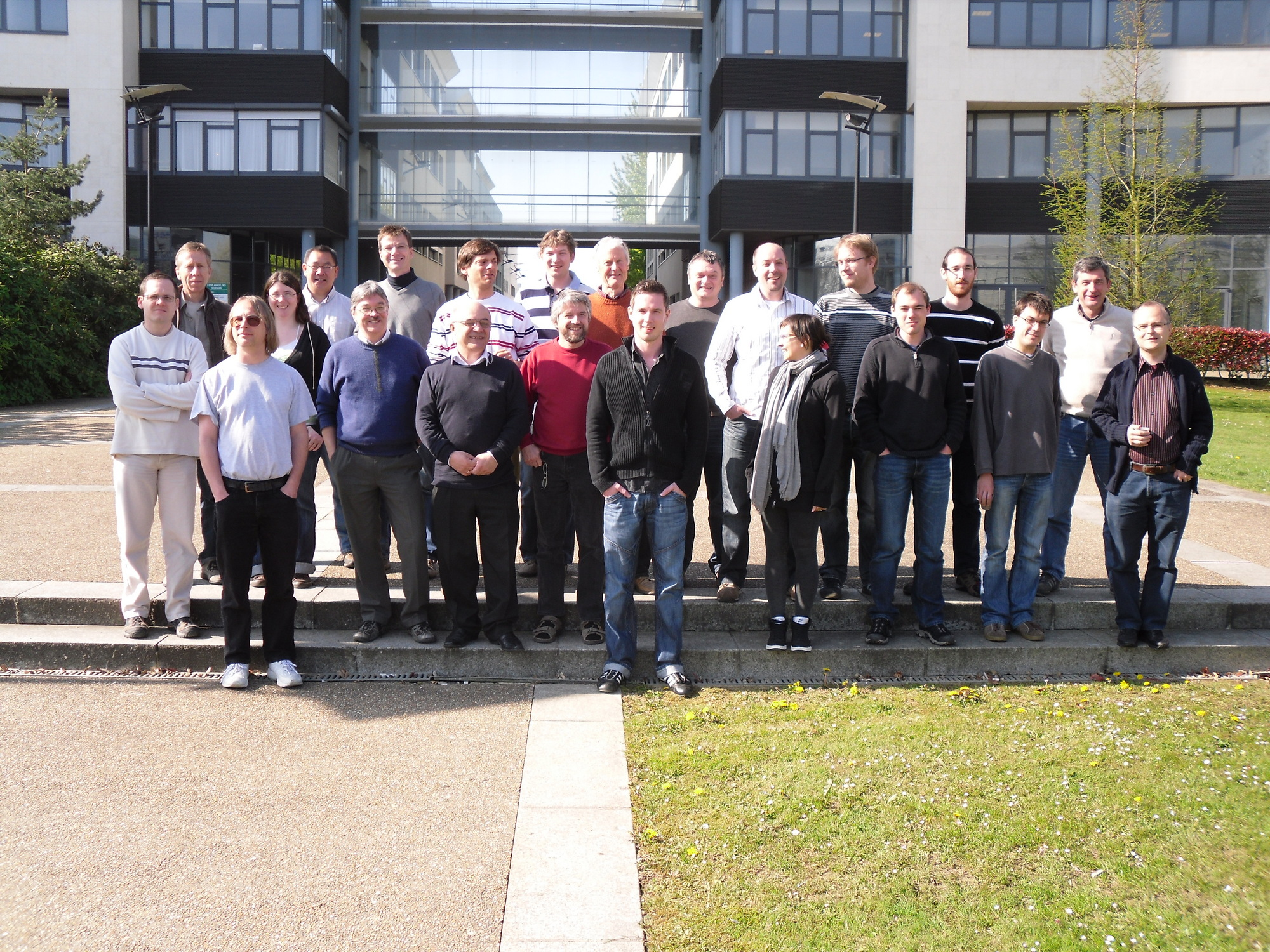 Picture taken at our collaboration meeting at LPC Caen, 23. April 2010
