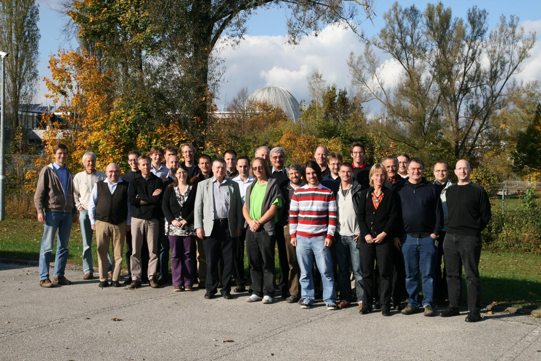 Picture taken at our collaboration meeting in Garching, 17. October 2008