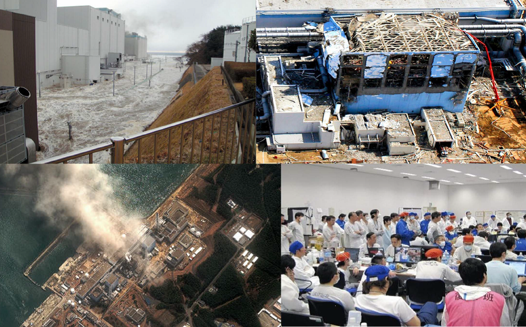 Analysis of the accident in the Fukushima Daiichi nuclear power station