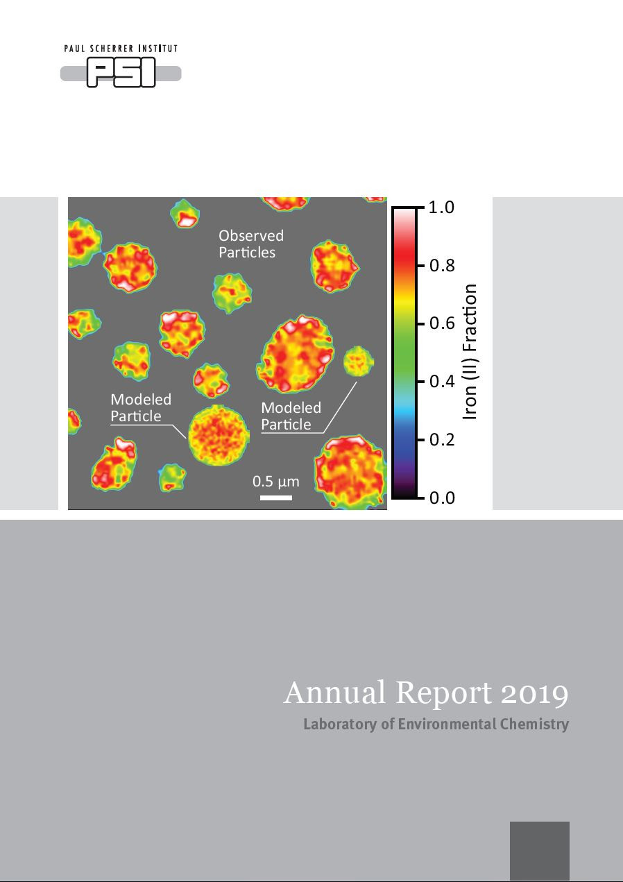 Annual report 2019 cover page