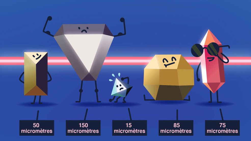Le microscope est indispensable