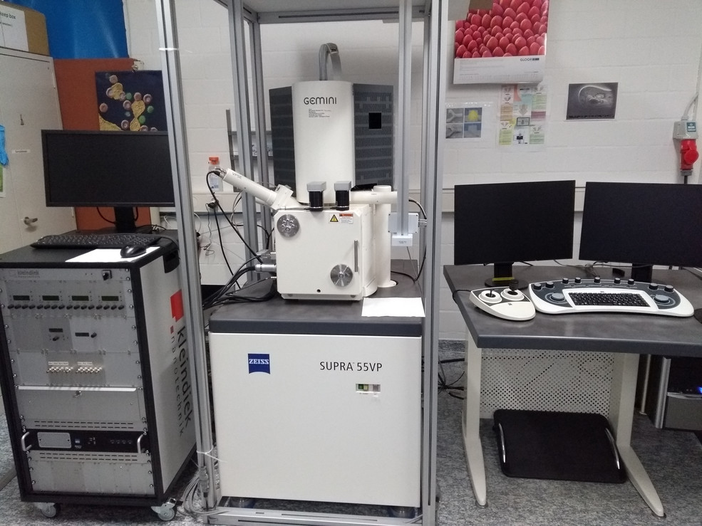 Zeiss VP55 Scanning electron microscope