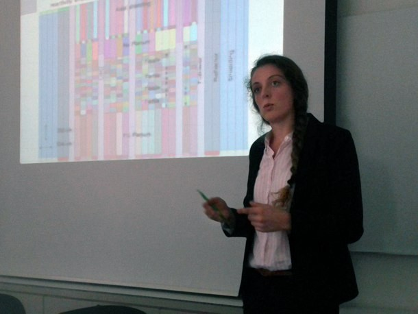 FAST in August 2017 (PSI Villigen). Emeline Beltjens defends her MS thesis 'Modelling of the low-void SFR core during ULOF with spatial kinetics'.