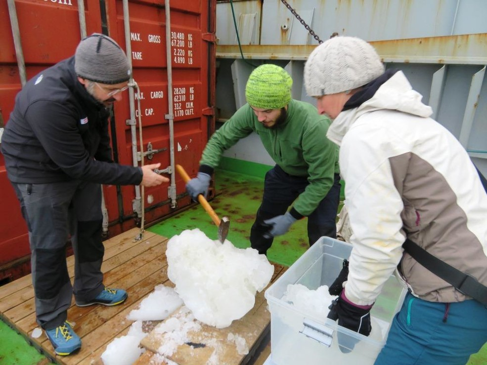 "Preparing the ""educational"" sea ice for the freezer"