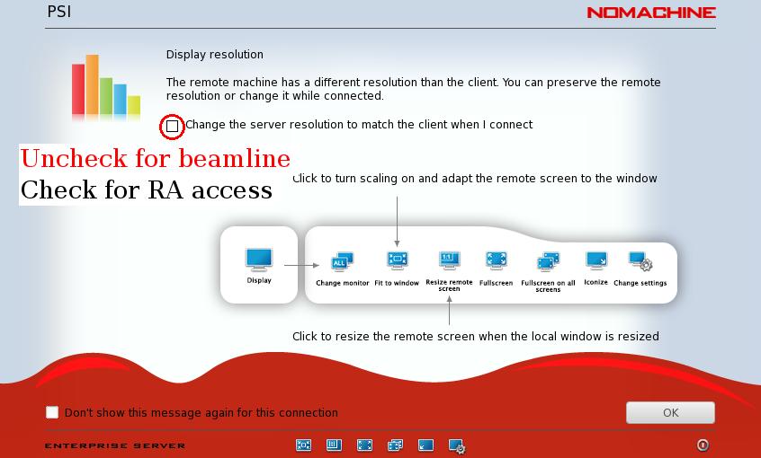 Remote interactive access | PS Data | Paul Scherrer Institut