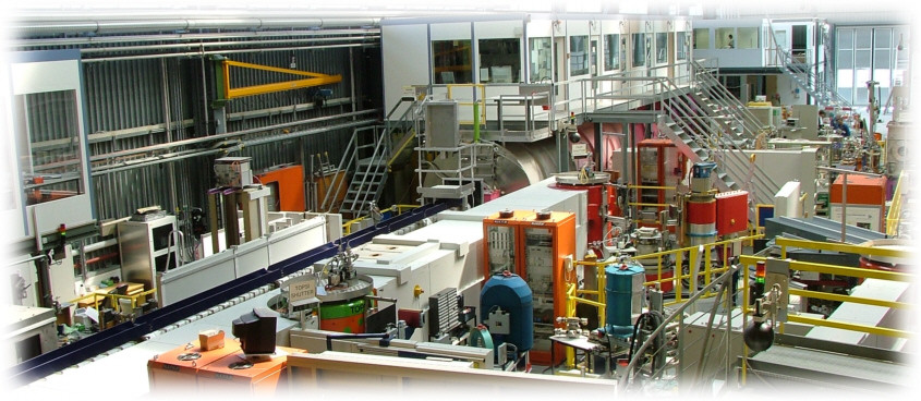Picture of the Small Angle Neutron Scattering facility at SINQ
