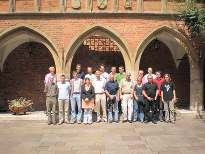 Picture taken at our collaboration meeting in Krakow, 22. June 2007