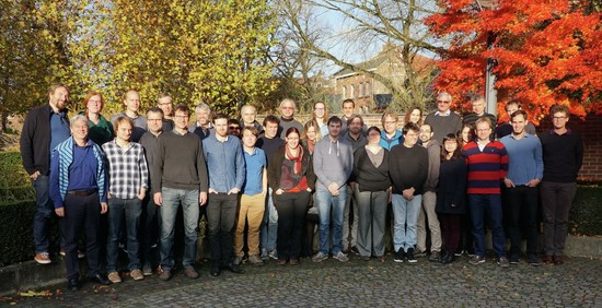 Picture taken at our collaboration meeting at Katholieke Universiteit, Leuven, 17. November 2017