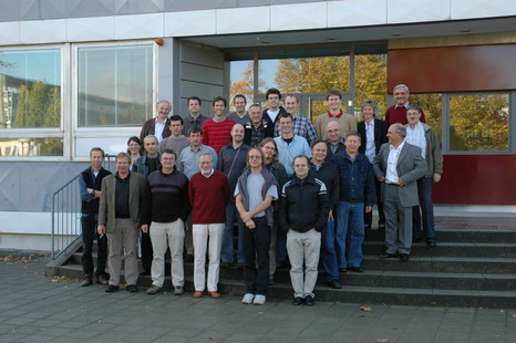 Picture taken at our collaboration meeting in Mainz, 18. October 2007