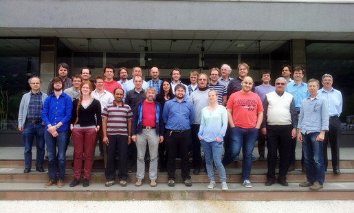 Picture taken at our collaboration meeting at LPSC Grenoble, 5. April 2014
