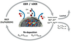 OER/LOER and dissolution/ redeposition mechanism