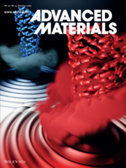 Cover page of the Advanced Materials issue
