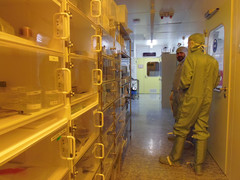 Aisle of the LMN Cleanroom