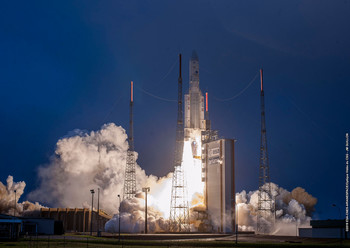 Ariane lift off