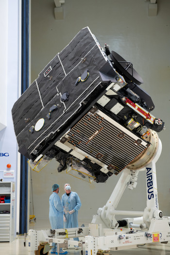 ESA's Solar Orbiter at IABG in Ottobrunn, Germany, in October 2019