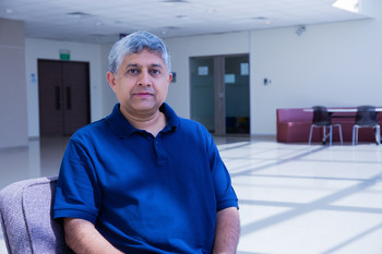 G. V. Shivashankar, group leader in the Biology and Chemistry Division at PSI
