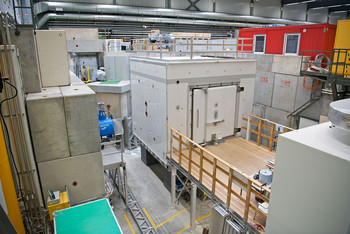The shielding room in which the n2EDM experiment is expected to clarify whether the neutron has a measurable electric dipole moment or not.