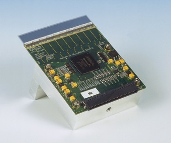 Picture of a MYTHEN module.