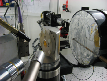 LNM/AHL sample holder for micro-chemcial analysis of irradiated fuel by XAS at SLS