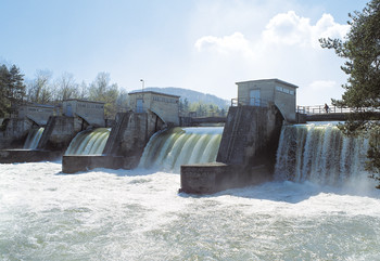 In Switzerland, CO2 emission is comparatively low thanks to hydropower and nuclear energy.