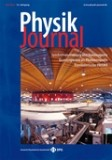 SIM on the Cover of Physik Journal.