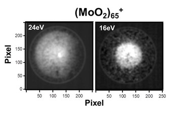 Photoelectron VMI Images of molybdenum oxide Clusters 1